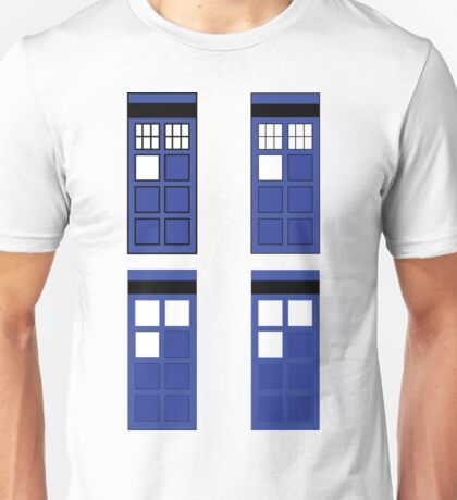 Police box geometry Unisex T-Shirt