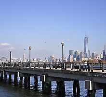 Beyond Liberty State Park by Leanne Stewart