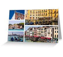 Selection of Italian scenes - custom postcard style Greeting Card