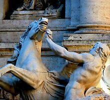 Trevi Fountain Detail by ChaosGate