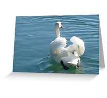 PUTTING OUT O SEA.... Greeting Card