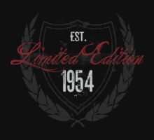 1954 Birthday Limited Edition by thepixelgarden