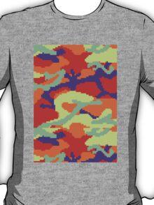 8-bit Woodland Camo (Samus) T-Shirt