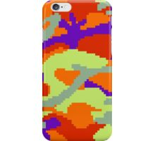 8-bit Woodland Camo (Samus) iPhone Case/Skin