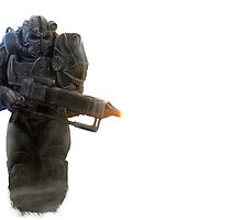 Fallout 4 Paladin by EvilMonkey793
