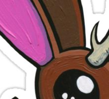 Jackalope Fawn Sticker