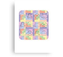 8 Bit Tee Canvas Print