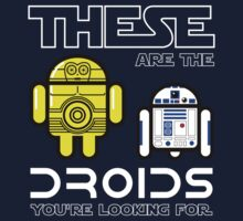 Star Droids Kids Clothes