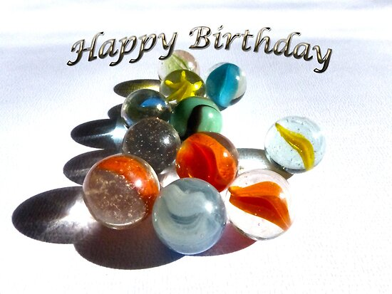 Happy Birthday Marbles by Susan S. Kline