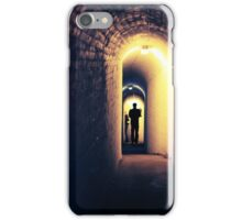 Tunnel Figure iPhone Case/Skin