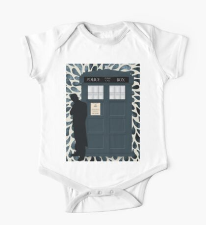 The Doctor and the TARDIS One Piece - Short Sleeve