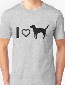 I Heart Beagles Unisex T-Shirt