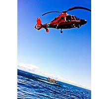 Search and Rescue Photographic Print