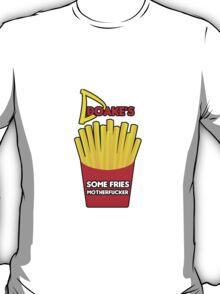 Some Fries Motherfucker - Doakes/Dexter T-Shirt