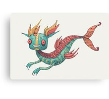 The Fish Dragon Canvas Print