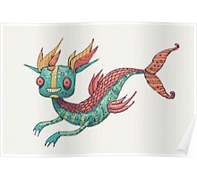 The Fish Dragon Poster