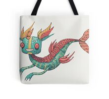 The Fish Dragon Tote Bag