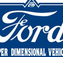 Ford Motor Company Hyper Dimensional Vehicle Universal Car Sticker