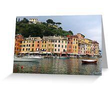 All About Italy. Piece 4 - Portofino Greeting Card