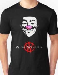 W for Wendetta Unisex T-Shirt