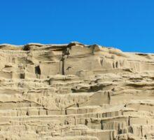 desert sand dune wind erosion Sticker