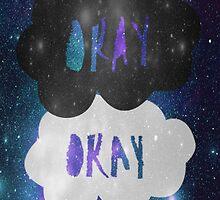 Okay? Okay. Galaxy Poster by arosef1027