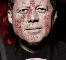 The Punisher + JFK Mash Up Sticker