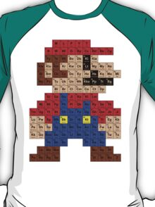 Periodic Mario Table T-Shirt
