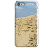 desert with sandy hills and blue sky iPhone Case/Skin