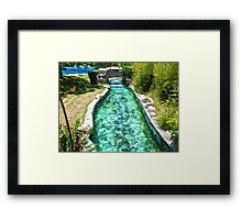 ©MS In Vacation IA Framed Print
