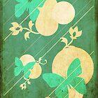 Cool Blues Butterflies by CastleDownpour