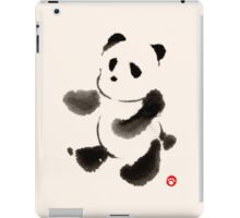 Ink Wash Panda iPad Case/Skin
