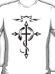 Black Fullmetal Alchemist Flamel T-Shirt
