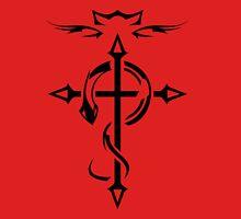Black Fullmetal Alchemist Flamel Unisex T-Shirt