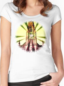 church bells Women's Fitted Scoop T-Shirt