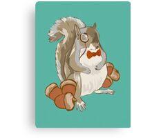 Dapper Squirrel Canvas Print