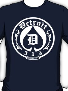 Detroit 313 Motor City T-Shirt