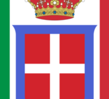 Flag of Kingdom of Italy, 1861-1946 Sticker