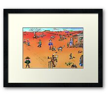 The Visitor from the Big Smoke Framed Print