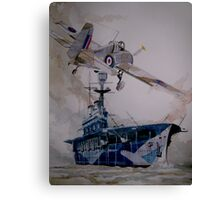 HMS Eagle Canvas Print