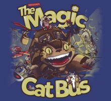 The Magic Cat Bus by Emilie Boisvert