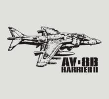 AV-8B Harrier II by deathdagger