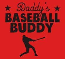 Daddy's Baseball Buddy One Piece - Short Sleeve