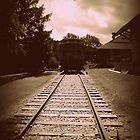 Antiqued Train by PiscesAngel17