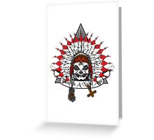Alien Chief  Greeting Card