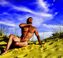 Dune Nude Hunk by BrianJoseph