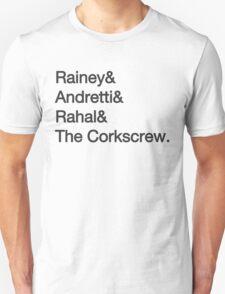Laguna Seca Typography Unisex T-Shirt