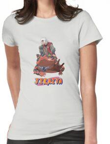 Jiraiya (Naruto) Womens Fitted T-Shirt