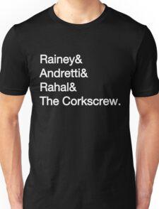 Laguna Seca Typography - Dark Edition T-Shirt