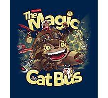The Magic Cat Bus Photographic Print